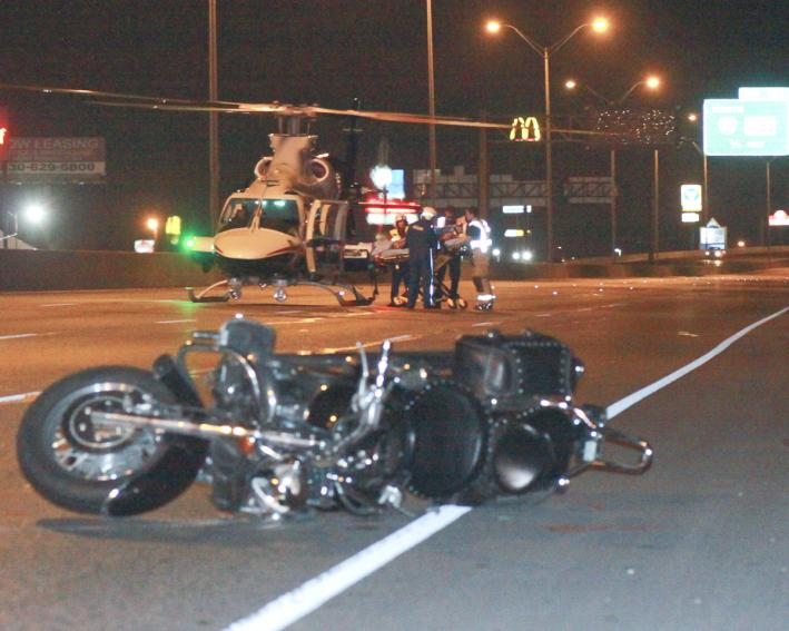 Two Airlifted Following Motorcycle Crash on Southbound I-35 Sunday